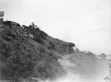 Illowra battery in 1944