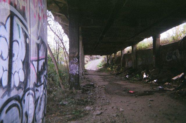 Inside the Rochester Subway portal. Author:Krimpet