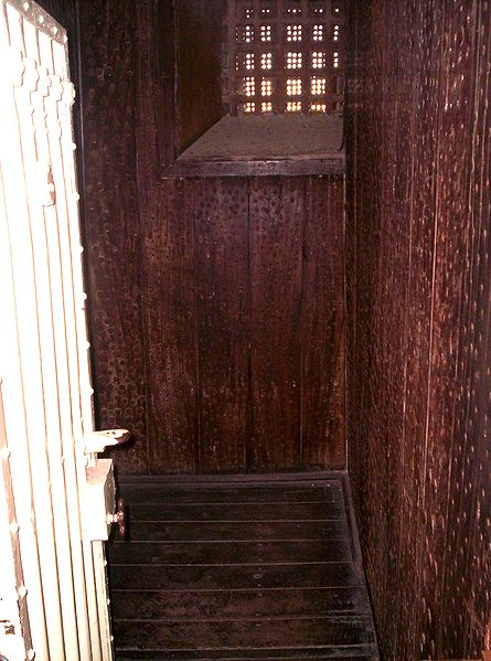 Moondyne Joe's escape-proof cell. Author: GhostieGuide CC BY-SA 3.0