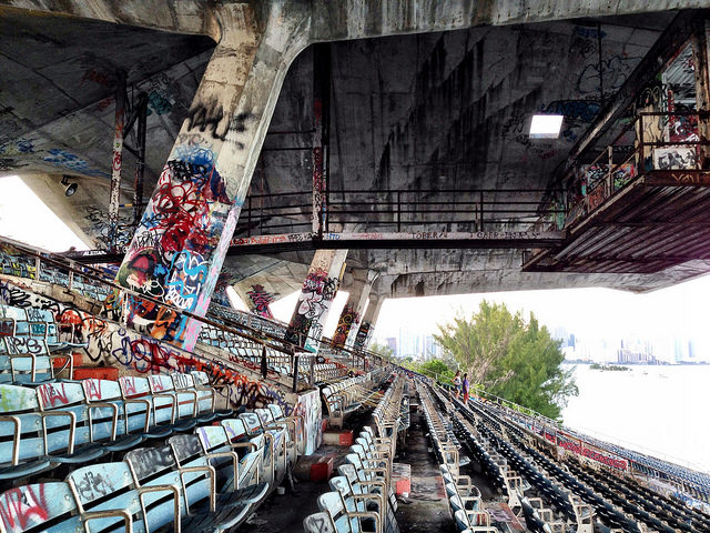 Part of the 6,566 seats.Author: Ines Hegedus-GarciaCC BY 2.0