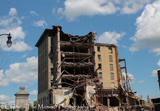 Partly demolished. Photo Credit