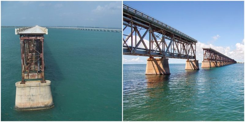 iconic bahia honda rail bridge  florida  abandoned abandoned spaces