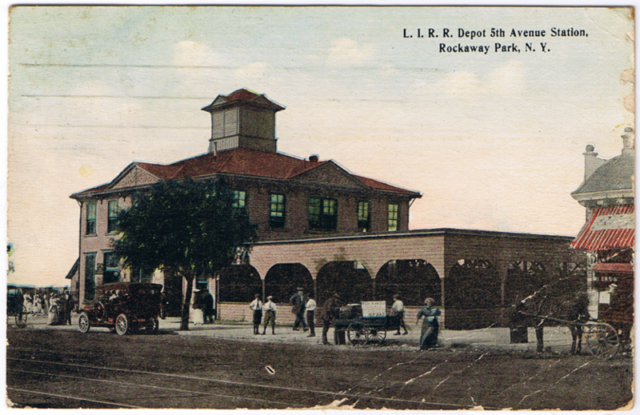 Rockaway Branch Woodhaven Junction Station.