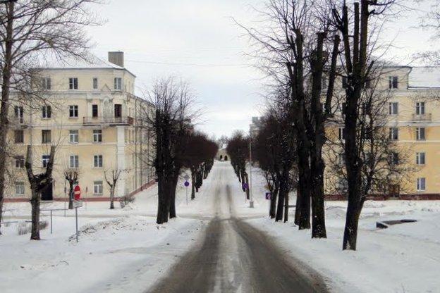 Sillamäe in winter. Photo Credit