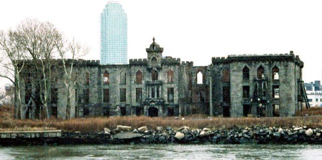 Smallpox Hospital ruins. Author: Earnest B CC BY 3.0