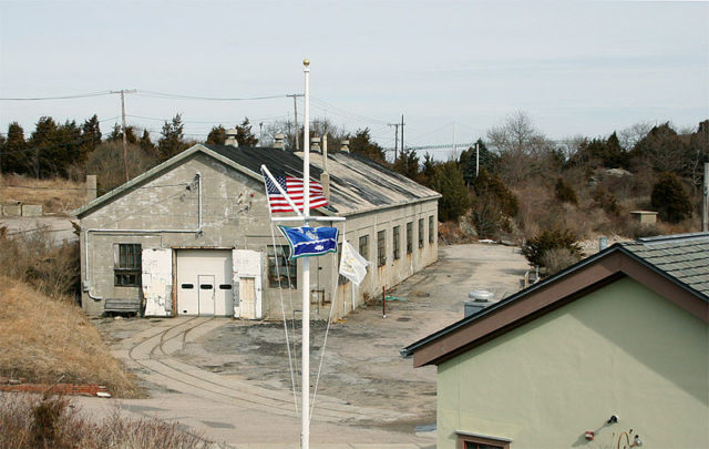 The 1940 Mine Storehouse. Pgrig CC BY 3.0