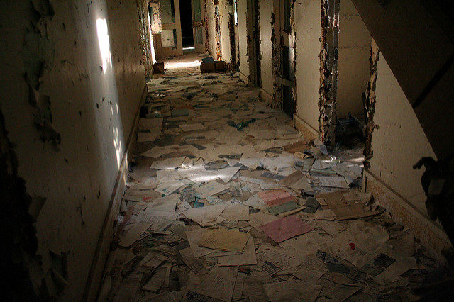 The abandoned psych ward.Author: AnneCC BY-ND 2.0