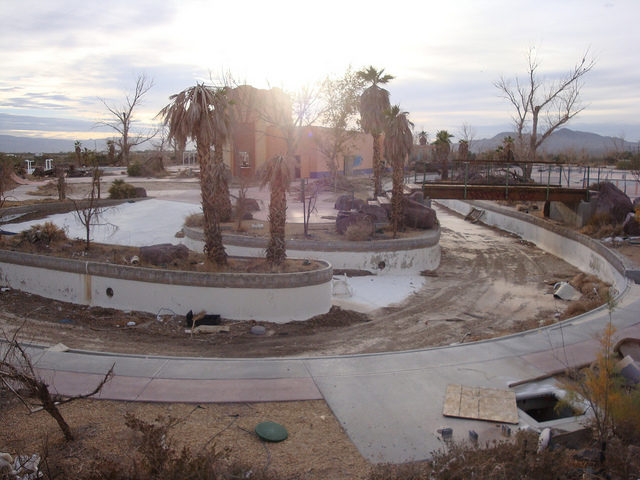 The desert reclaiming the park.Author: Jeff KernCC BY 2.0