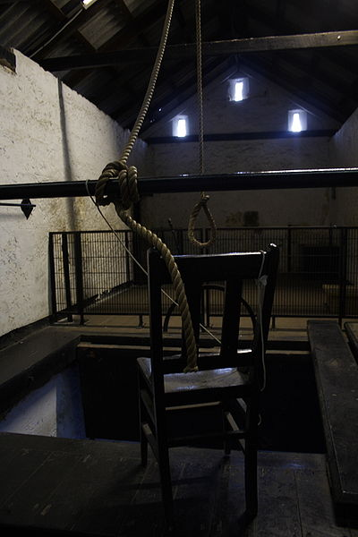 The gallows. Author: quinncd CC BY-SA 3.0