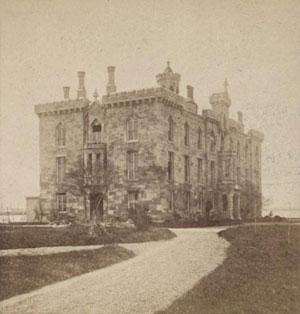 The hospital circa 1870.