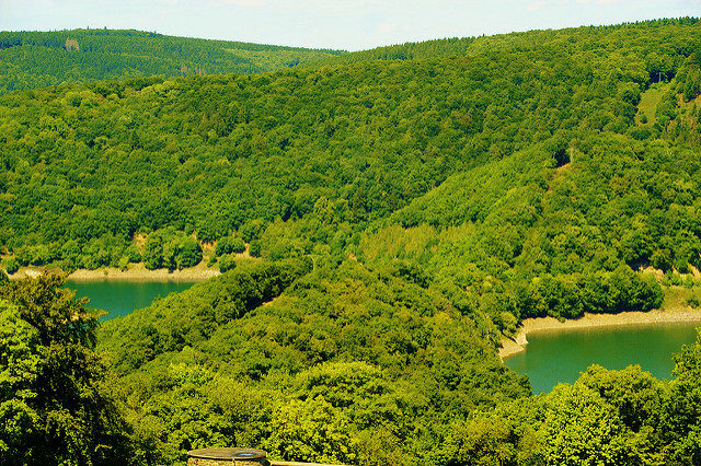 The panorama from Ordensburg Vogelsang. Author: AlehinsCC BY 2.0