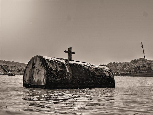 The Ship watery Graveyard Marker. Author:joiseyshowaa.CC BY-SA 2.0
