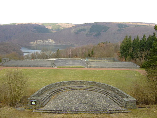 Thingplatz: an outdoor theater. Author:Hans WeingartzCC BY-SA 2.0 de