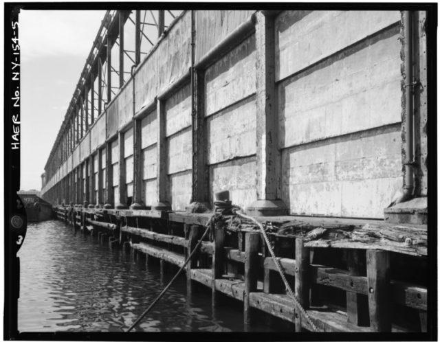 View Of East Side Cargo Doors.