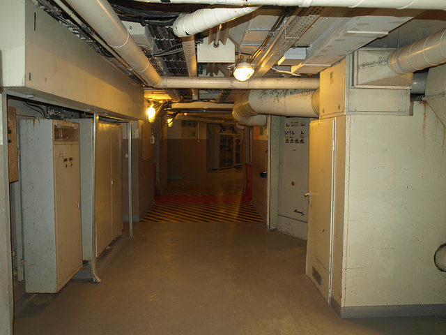 Underground corridors – Author: Morten Jensen – CC by 2.0