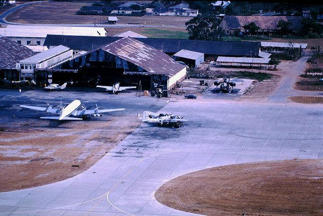 Nha Trang Air Base 1963-64 – Author: manhhai – CC by 2.0