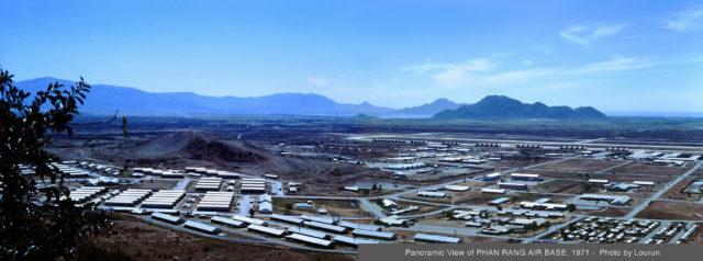 Panoramic View of PHAN RANG AIR BASE, 1971 – Author: manhhai – CC by 2.0