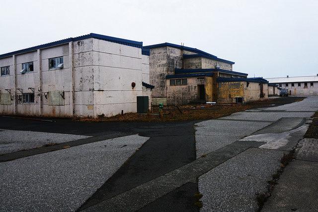 Abandoned buildings on Adak Island, Alaska – Author: Paxson Woelber – CC by 2.0