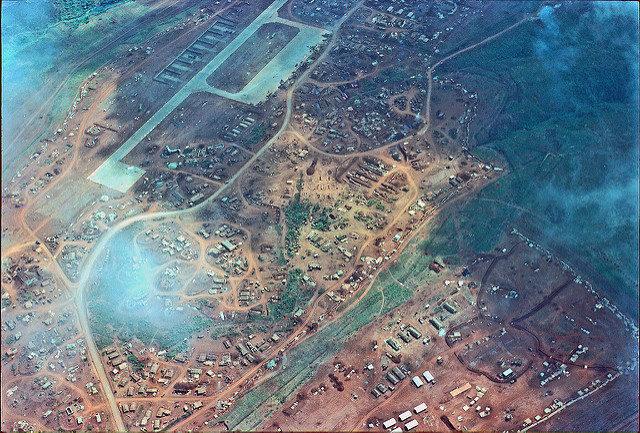 Khe Sanh Combat Base looking Northeast, 1968 – Author: manhhai – CC by 2.0