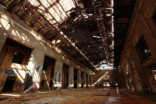 Michigan Central Train Station – Author: Ray Dumas – CC by 2.0