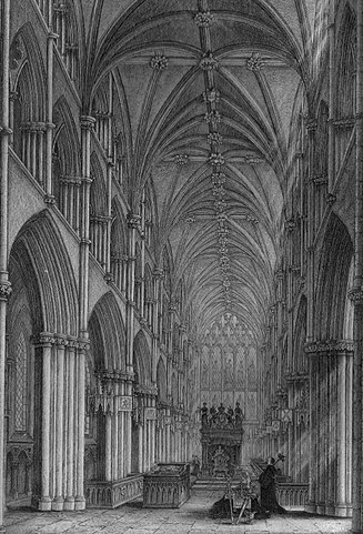 The Chapel Royal at the time of James VII