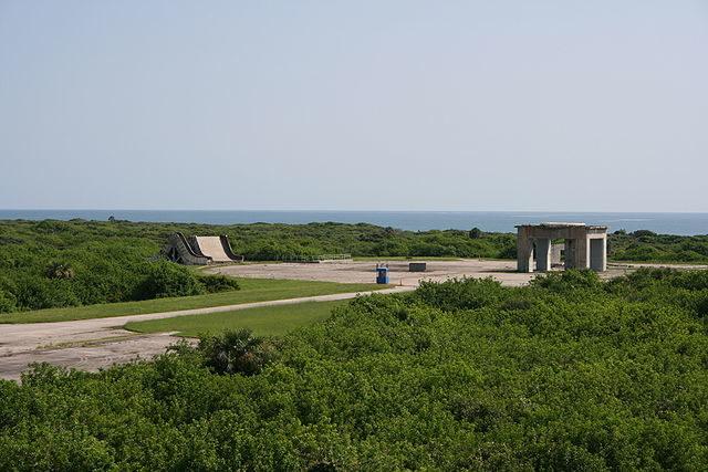 Pad 34 – Today a memorial site