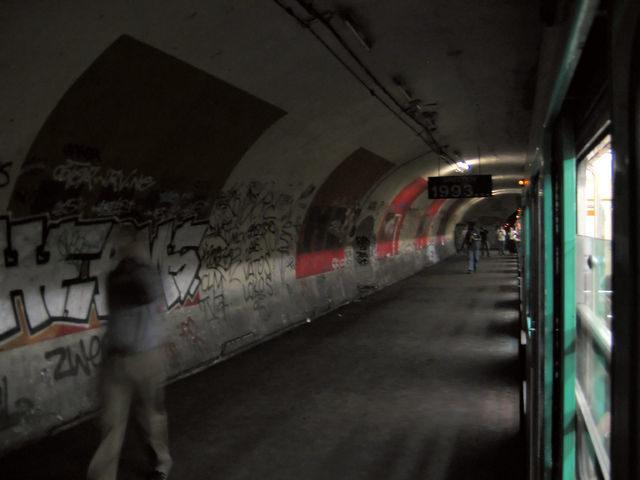 The station Haxo has no exterior entrances/Author: Gonioul – CC BY-SA 3.0