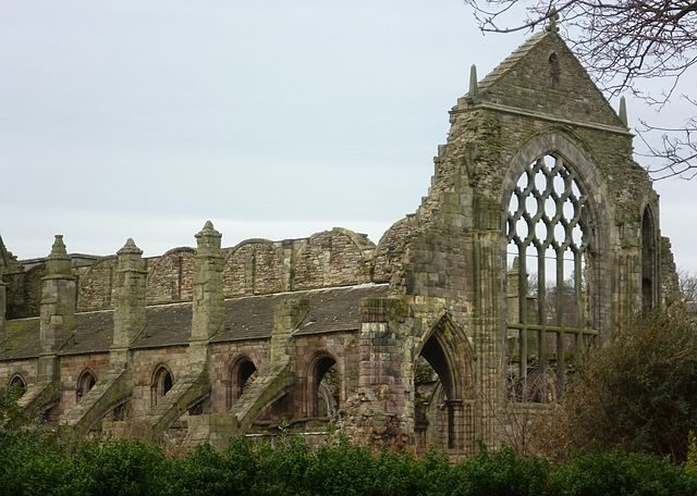 The ghostly image of the church/ Author: Kim Traynor – CC BY-SA 3.0