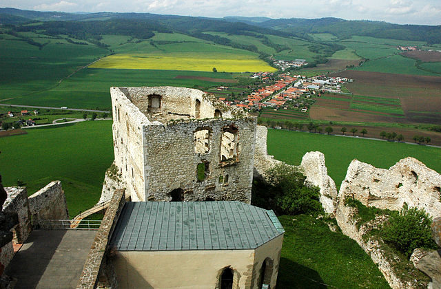 View from the castle/ Author:János Korom Dr – CC BY-SA 2.0