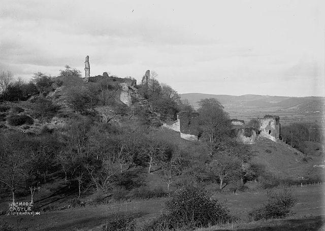 Wigmore castle c.1910's