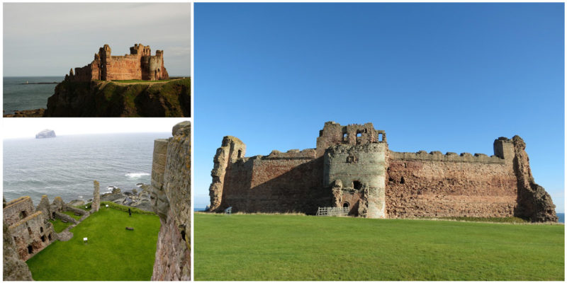 Curtain Wall Medieval Times : Tantallon castle the ruined fortress is last medieval