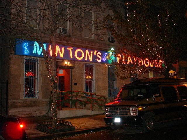 Minton's Playhouse. Author: MR.119th. STREET. CC BY-SA 2.0