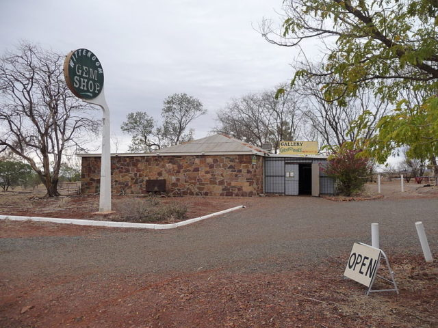 Wittenoom Gem Shop. Author: Five Years. CC BY-SA 3.0