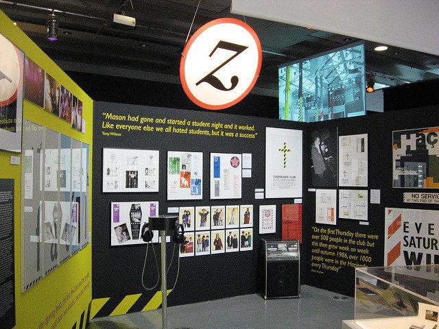 Haçienda Exhibition, Urbis, Manchester. Author: Gidzy.CC-BY 2.0