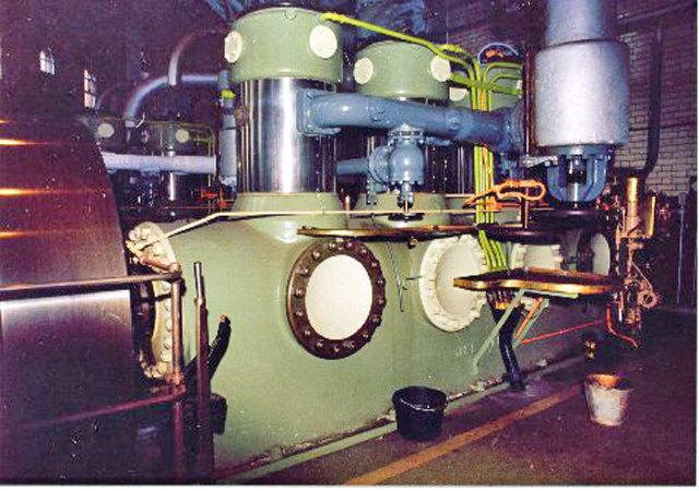 A close-up view of a compressor. Photo Credit