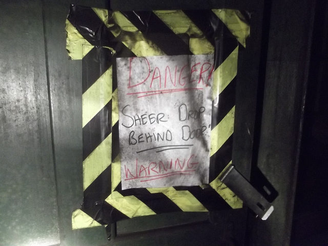 A Warning sign.Author:Matt BrownCC BY 2.0