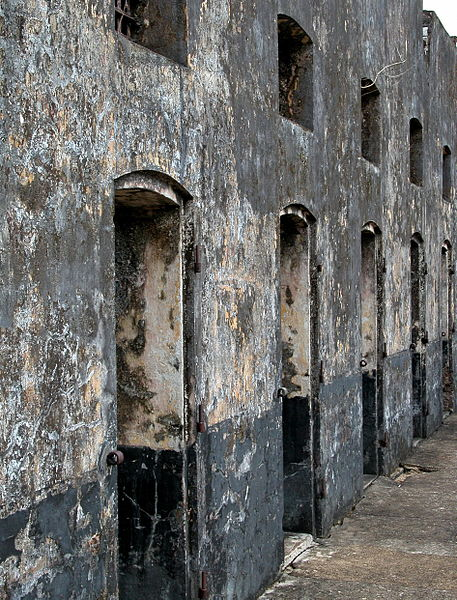 Abandoned Prison Cells.Author:Psu973CC BY-SA 3.0