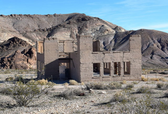 After the town had been abandoned, it served as a filming location for several movies. Author: Terrisa Meeks. CC BY 2.0