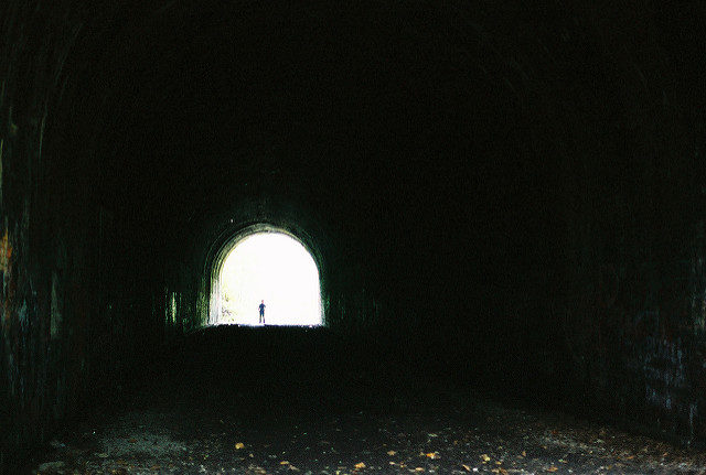 At the end of the tunnel.Author:Chris BarronCC BY-ND 2.0