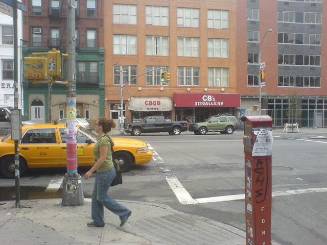 Picture of CBGB from the outside