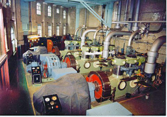 Compressors at the factory in 1990. Photo Credit
