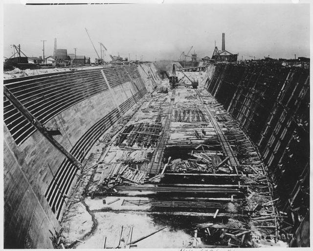 Construction Progress. Author:Unknown or not providedPublic Domain
