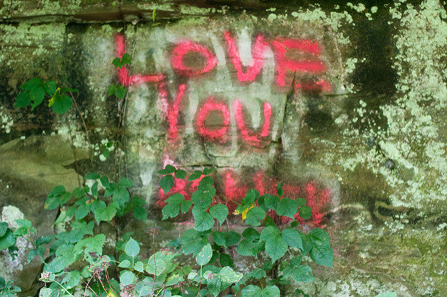 A creepy place for a love you massage. Author:Stacy BrunnerCC BY 2.0