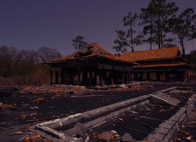 Dark and Demolished. Author:Pat DavidCC BY-SA 2.0