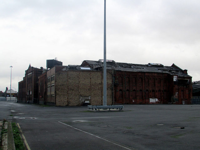 Grimsby Ice Factory in 2013. Photo Credit