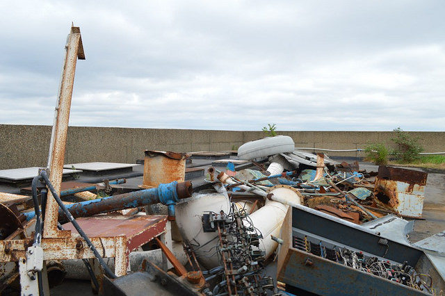 Metal Scrap. Author:Matt Brown.CC BY 2.0