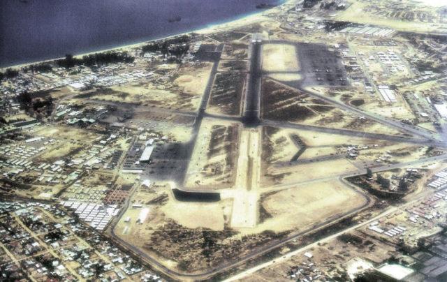 Aerial Photo of Nha Trang Air Base South Vietnam – June 1968