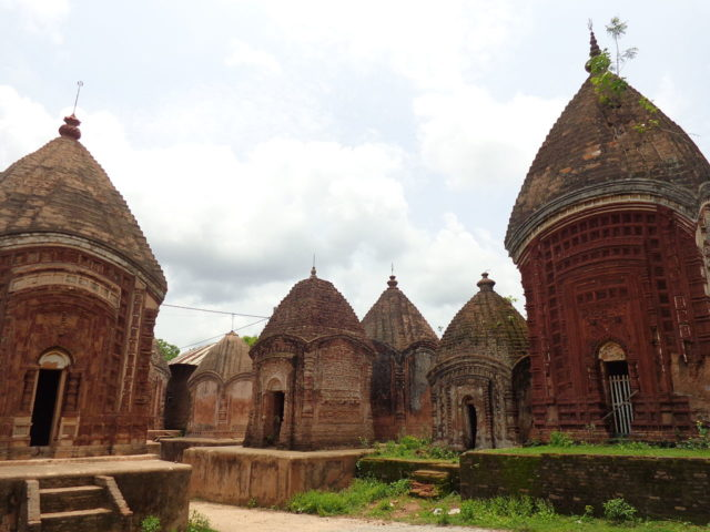 Originally, there were 108 temples, but today only 72 are left. Author: Moongo.in. CC BY-SA 3.0