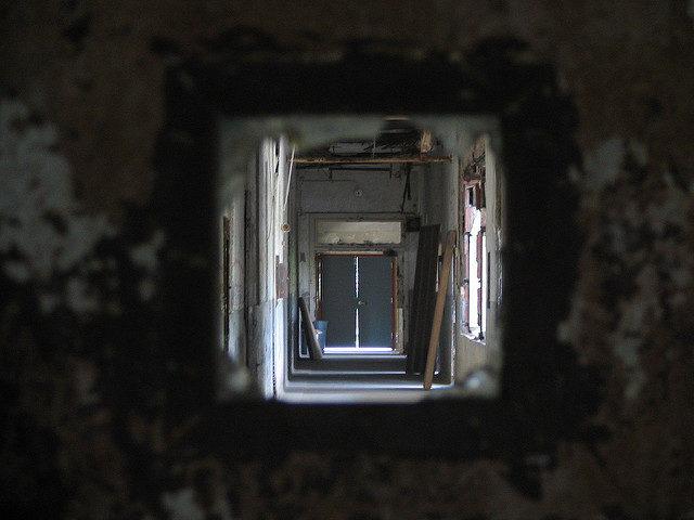 Peek through the broken glass.Author:Aaron VowelsCC BY 2.0