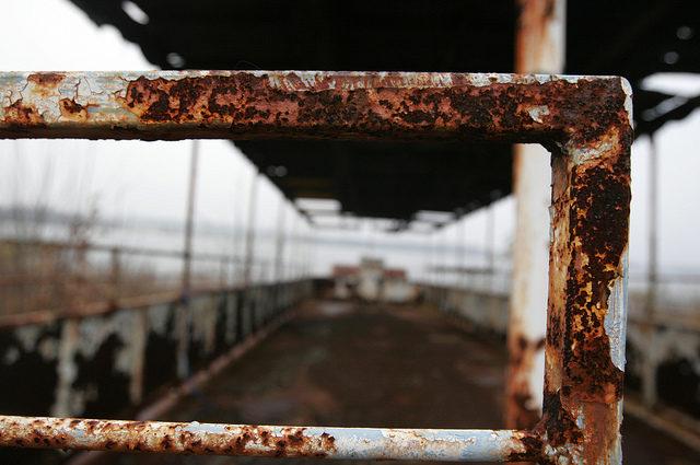 Rust – the only friend of Chippewa Lake Amusement Park.Author:Dana BeveridgeCC BY 2.0